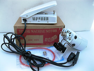 .9  Amps Home Sewing Machine Motor & Pedal Singer Ha1 15 66 99K