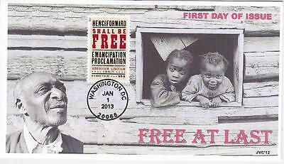 Jvc Cachets - Emancipation Proclamation Black Heritage First Day Cover Fdc #1
