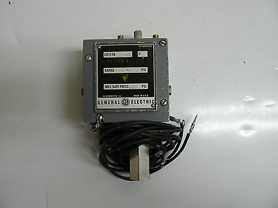 GE GENERAL ELECTRIC CR127B1017AG P.1 INDUSTRIAL PRESSURE SWITCH 100-550 PSI