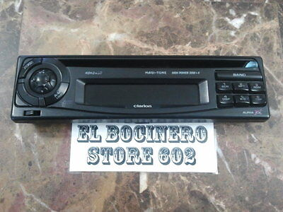 CLARION RDB245D   *** STEREO FACEPLATE ***  STEREO CD AM FM RADIO