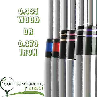 Coloured Ring Golf Club Shaft Ferrules 1 - 50