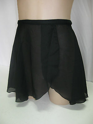 Ladies Dance Wrap Around Skirt with Ties, Ballet, Jazz, Tap, Adult Sizes, New