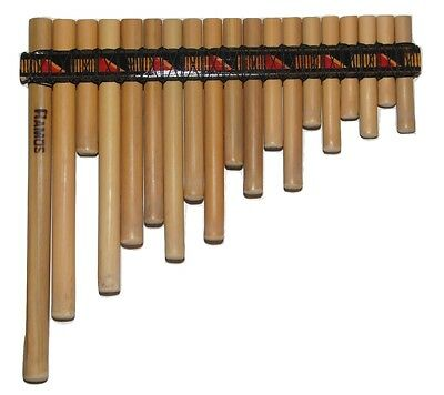 Professional Rondador Pan Flute-19  Pipes -Item In Usa -See Video Show