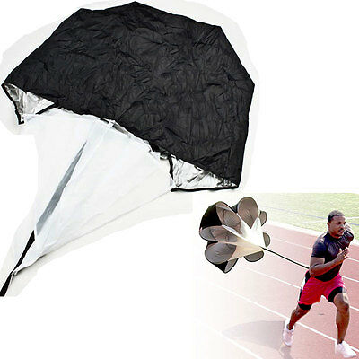"56"" Speed Training Resistance Parachute Exercise Running Power Chute"