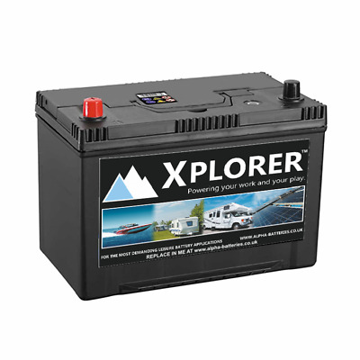 Pair of 12V 110AH Xplorer Premium Leisure Battery (679) 4 Year Warranty