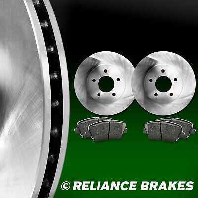 [FRONT KIT] Reliance *OE REPLACEMENT* Disc Brake Rotors *Plus Ceramic Pads F2487