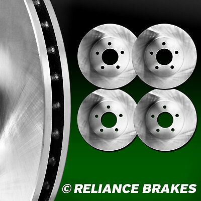 [2 FRONT + 2 REAR] Reliance *OE REPLACEMENT* Disc Brake Rotors  C2648