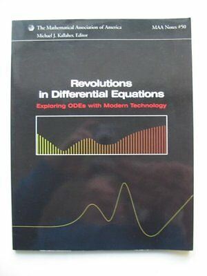 REVOLUTIONS IN DIFFERENTIAL EQUATIONS - Kallaher, Michael J..