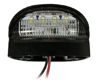 RING AUTOMOTIVE RCT786 4 LED Number Plate Lamp 12 or 24 Volt UNIVERSAL