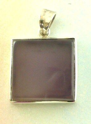 Sterling Silver 925 Chalcedony Pendant P40