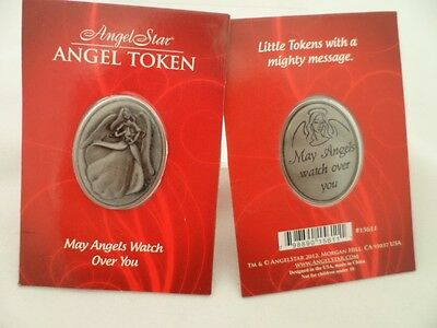 May Angels watch over you Angel Token from Angel Star