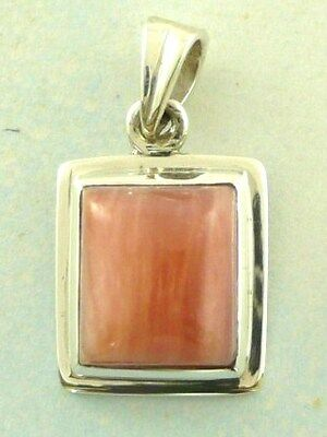 Sterling Silver 925 Andean Opal Pendant P88