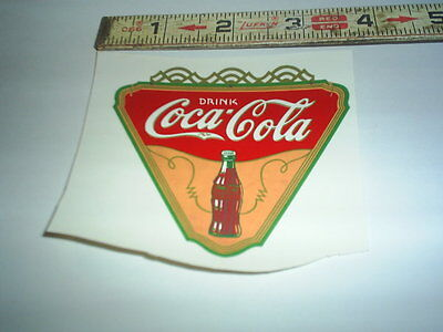 Original Coke Real water decal (new old stock ) C@@L #1 stock#251
