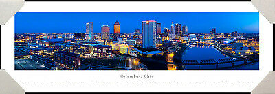 Columbus Skyline OH Souvenir Fridge Photo Magnet CO401 City Ohio Bridge