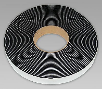 Neoprene Rubber Self Adhesive Sponge Strip, 5 Metre Length 3Mm, 6Mm, 10Mm Thick