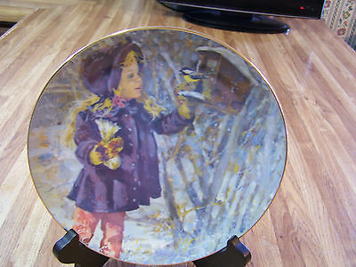 "Schmid ""STAR"" ""STAR'S WINTER"" plate Jessica Zemsky  REDUCED PRICE"