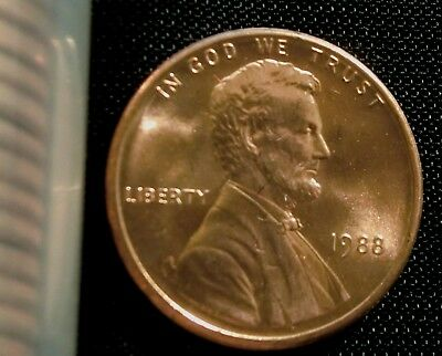 1988-P Philadelphia Mint Lincoln Memorial Cent BU