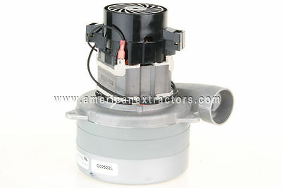 Hi-Pro 3-Stage Vacuum Motor for Carpet Cleaning Extractors *ametek edic mytee