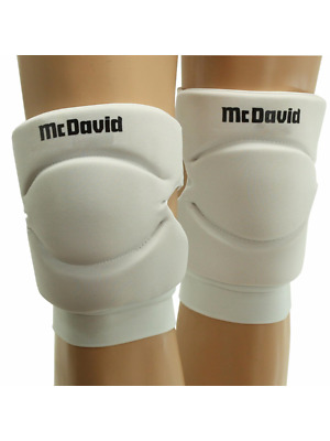 McDavid 643 Unisex Deluxe Knee / Elbow Pads (sold in pairs) White XL