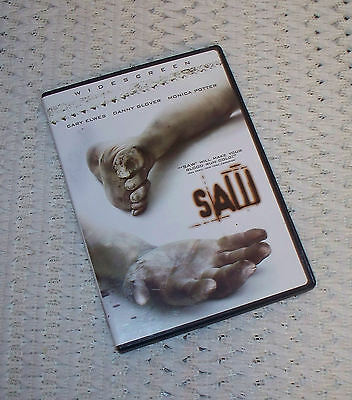 ☆Saw☆(DVD, 2005 Widescreen)☆Cary Elwes~Danny Glover~Monica Potter☆#11