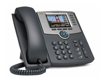 Cisco SPA525G2 SPA525 5 Line Color LCD IP SIP Phone Wifi BT PoE 2 LAN w Power