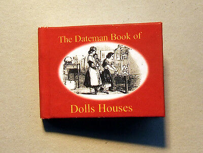 Dollshouse Miniature Book - Dateman Book of Dollshouses
