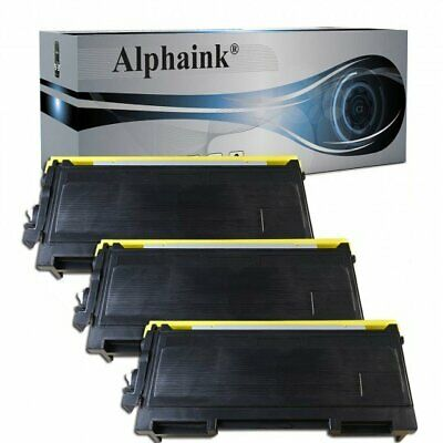 3 Toner Per Brother Tn2000 Mfc7420 Mfc7820N Dcp7010L Dcp7020 Dcp7025 Hl2030 2035