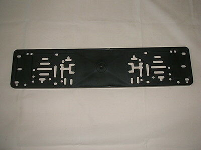 Plastic Number Plate Backing Plinth All Car Repairs NEW!