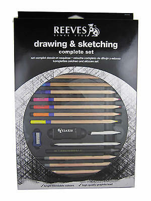 Brand New Reeves Complete Drawing and Sketching 21 pcs Pencil Set Set #8210144