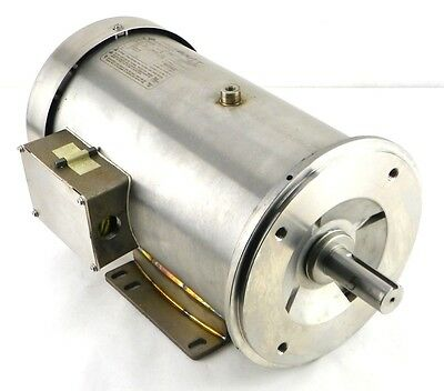 Franklin Stainless Washdown Motor HYDRODUTY 5 HP 208-230/460 3 Ph H311007102 PA