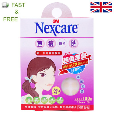 3M Nexcare Acne Care Dressing - 50 patches - Pimple Treatment