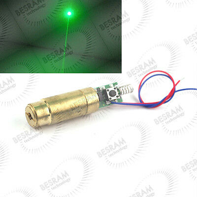 NEW 532nm 50mW - 80mW Green Laser/Lazer Diode Module Visible Beam Stage Lighting