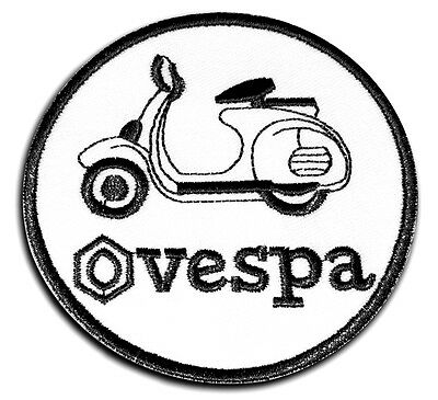 Ecusson Patch Vespa PX Piaggio ACMA Scooterist Mod Scooter Ska Who Jam Kinks