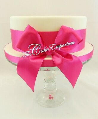 1M Various Colours Ribbon Set Including Bow For Cakes / Gift Wrap