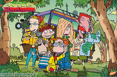 Poster :Tv:animation:  Wild Thornberrys - Free Shipping ! #1824  Rap15 B