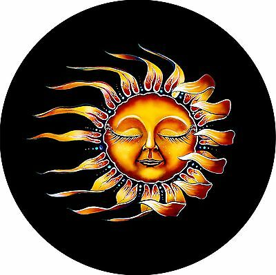 Sleeping Sun Spare Tire Cover / Wheel Cover Jeep RV Camper (all sizes available)