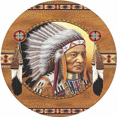 Native American #4 Indian Spare Tire Cover Jeep RV Camper etc(all sizes avail)