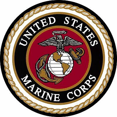 Marines Spare Tire Cover - Wheel Cover Jeep RV Camper etc (all sizes available)