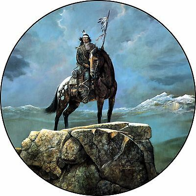 Native American #2  Indian Spare Tire Cover Jeep RV Camper etc(all sizes avail)