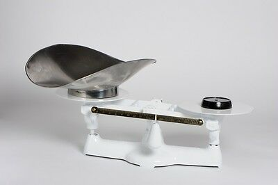 16 LB x 1/4 OZ (1 LB) Penn Scale, Bakers Mechanical Scale W Stainless Scoop NEW