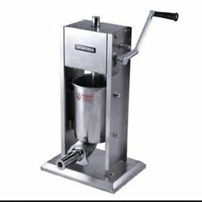 Uniworld UCM-DL3 Stainless Commercial Churro Maker 5 Lb Capacity with 2 Nozels