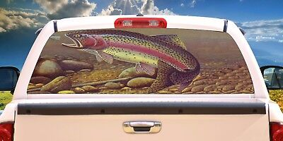 Trout Rear Window Tint Murals Decals Graphics