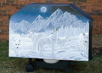 Wolf # 1 BBQ  Barbeque Gas Grill Cover