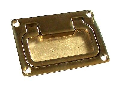 Lifting ring, Box Handle, Drawer pull, Brass or Chrome     103A00x