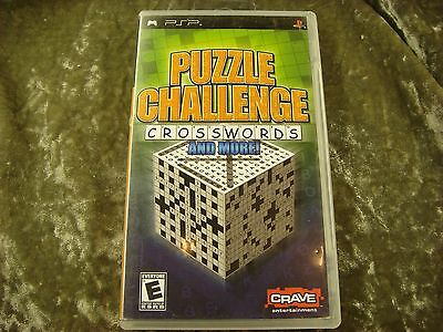 Puzzle Challenge: Crosswords and More!  (PlayStation Portable, 2006)