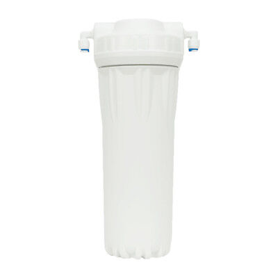 "10"" Two-Part In-Line Water Filter Housing includes Refillable Transparent Insert"