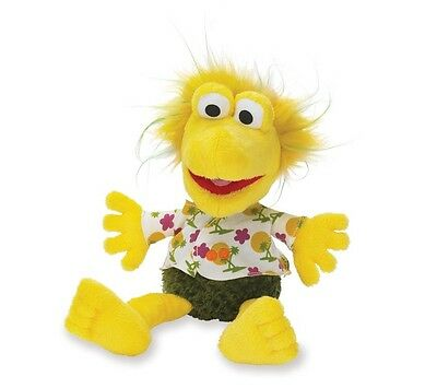 Retro Fraggle Rock Wembley Bobble Head Plush Toy Brand New 30 Year Anniversary