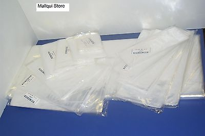 25 CLEAR 20 x 24 POLY BAGS 1 MIL PLASTIC FLAT OPEN TOP