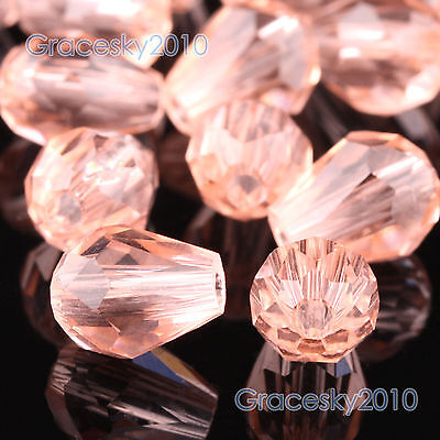 100pcs 6mm Teardrop 5500 Austria Crystal Beads Loose Beads Jewelry Making