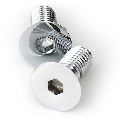 M4 Socket Countersunk Screws Chrome or Zinc Plated Pack of 10
